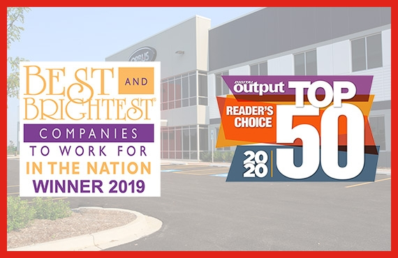 """Orbus Named """"National Best & Brightest Companies to Work for in the Nation"""" for the 5th Consecutive Year & Digital Output Magazine Reader's Choice Top 50 2"""