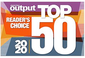 2020 Digital Output Top 50