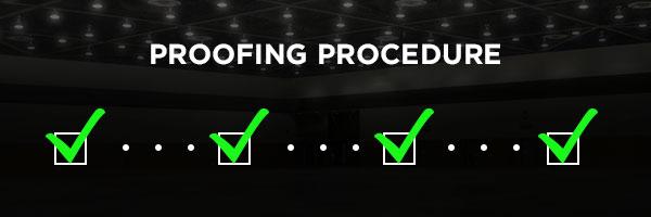 View Proofing Procedure
