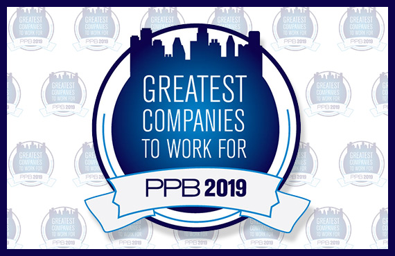 ORBUS NAMED ONE OF PPB'S 2019 GREATEST COMPANIES TO WORK FOR