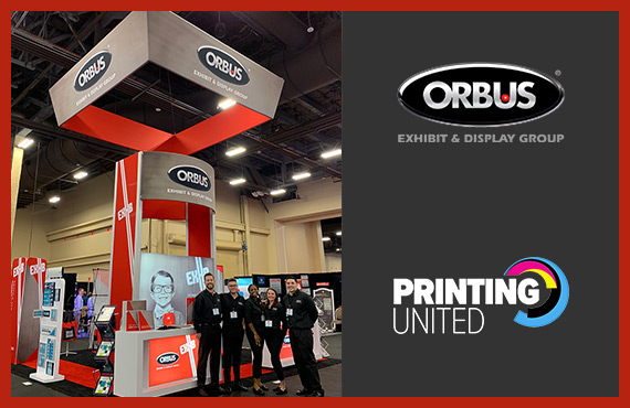 ORBUS IS PROUD TO BE A GOLD SPONSOR OF PRINTING UNITED SHOW