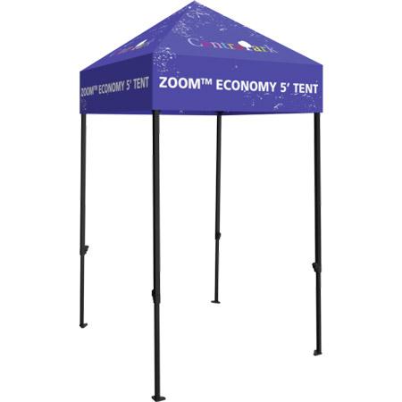 Zoom Economy 5' Popup Tent